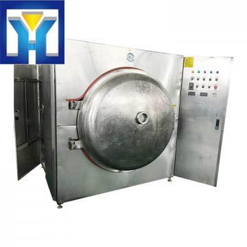High Efficient Microwave Vacuum Drying Machine