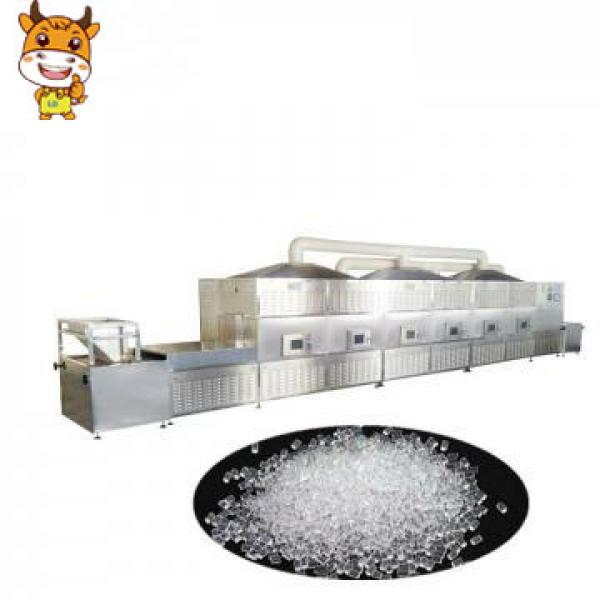 CE Certification 200kw Belt Type Microwave Silica Drying Machine #1 image