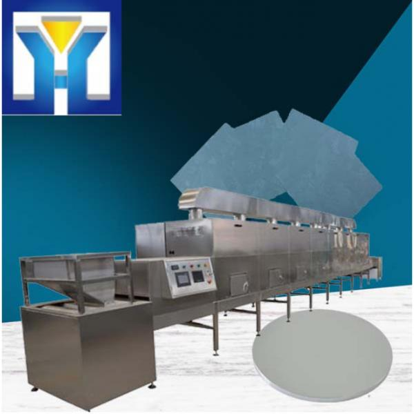 CE Certification 200kw Belt Type Microwave Silica Drying Machine #3 image