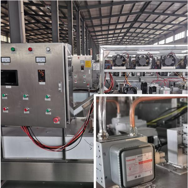Good Quality Tunnel 200kw Microwave Betaine Drying Machine #2 image