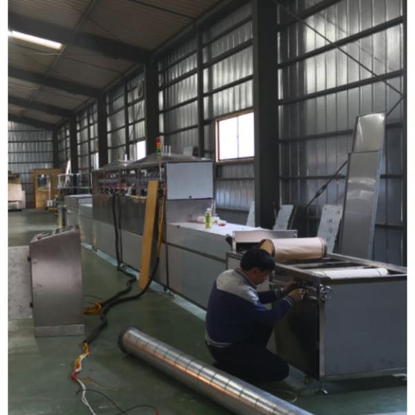 CE Certification 200kw Belt Type Microwave Silica Drying Machine #5 image